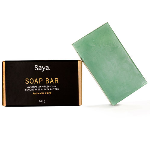 SOAP BAR  Green Clay & Lemom Grass