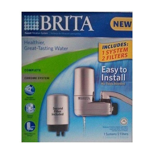 whole-kitchen-sink | Brita Faucet Mount Filteration System Includes One