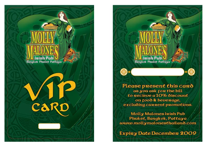MM VIP CARD JUNE 08 TILL DEC 09