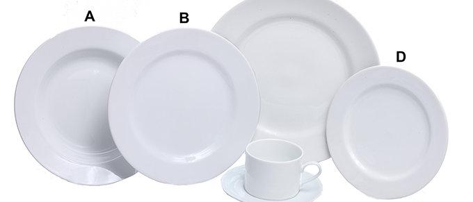 White China Rim