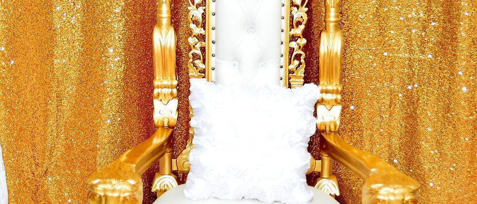 King Throne sofa chair