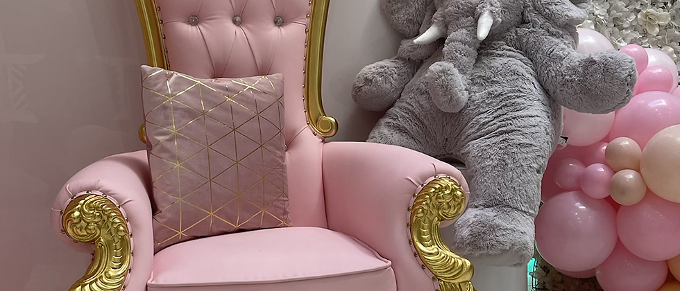 Baby pink Throne