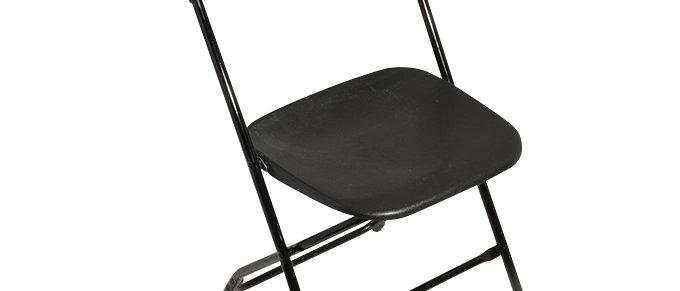 Samsonite Chair in black or white color