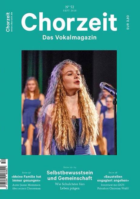 Chorzeit - das Vokalmagazin