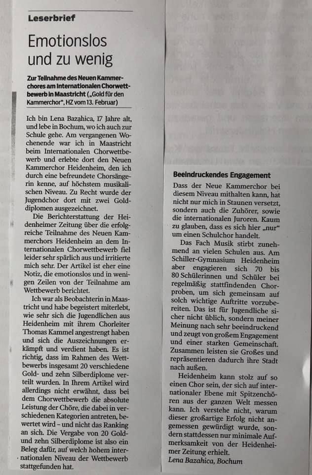 Heidenheimer Zeitung Sa 2. März 2019