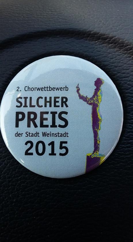 2. Preis beim Silcher-Wettbewerb 2015 als bester Jugendchor !