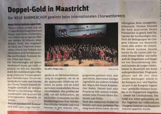 Doppel-Gold in Maastricht