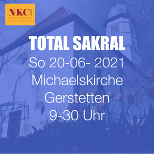TOTAL SAKRAL in Gerstetten