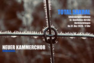 TOTAL SAKRAL - Silvestergottesdienst St. Bonifatius Herbrechtingen