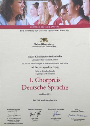 JUNGE CHORMUSIK IN AALEN UND SCHWÄBISCH GMÜND Baden-württembergische Schulchortage