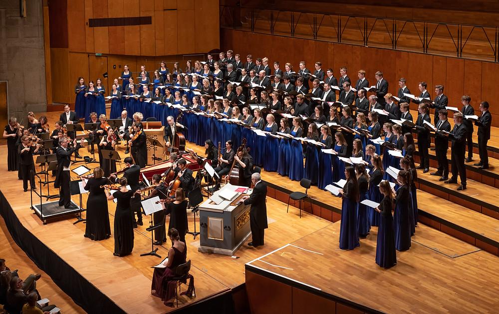 Auftritt in der Stuttgarter Liederhalle mit der Gaechinger Cantorey im Dezember 2019