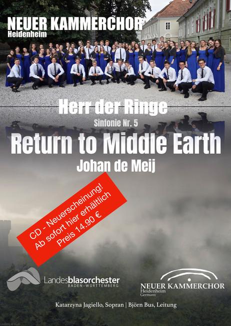 """Neu: 5. """"Herr der Ringe"""" - Sinfonie auf CD"""