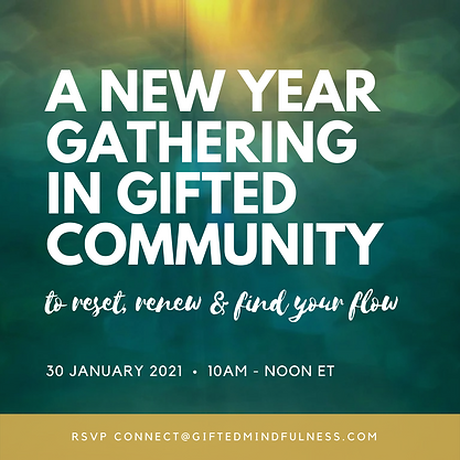 A new year gathering in gifted community