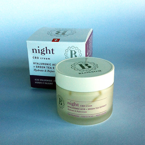 CBD NIGHT CREAM by Blossom