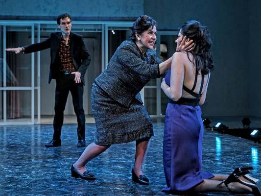 Tommy Schrider, Socorro Santiago and Lisa Birnbaum