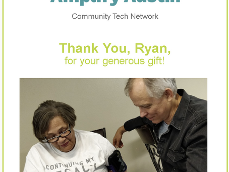 Our first grant!