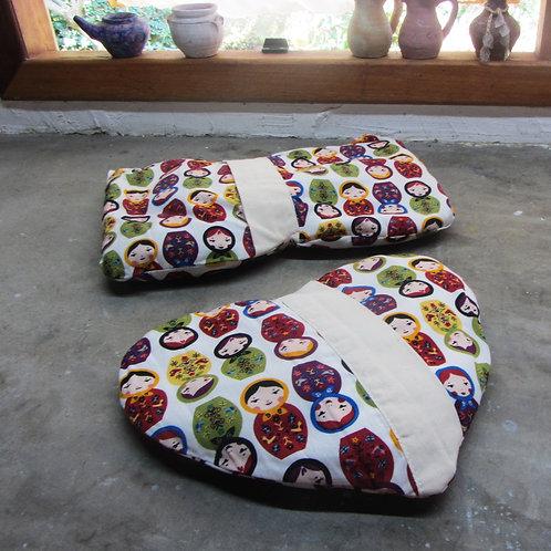 Kit de Almofadas Terapêuticas Mamãe&Bebe