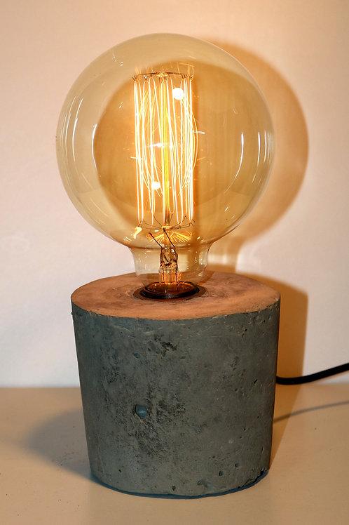 Luminária em Concreto Aparente Rustica