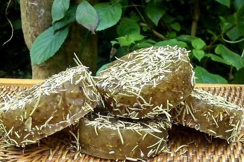 Sabonete/shampoo de Alecrim  Cold Process