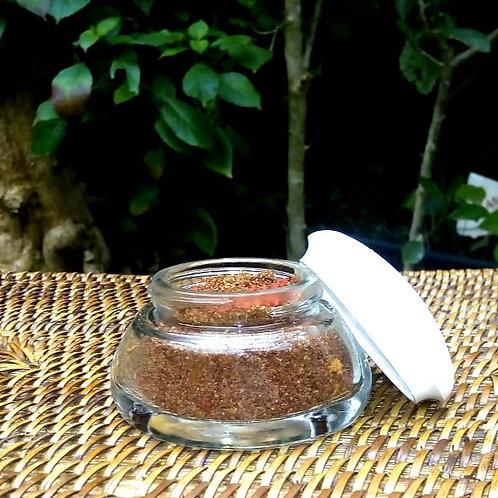 Sal fino de banho/ Escalda Pés Urucum Pequeno