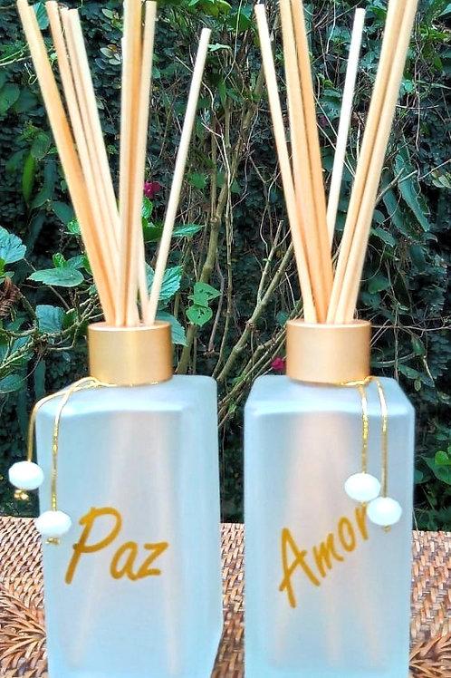 """Difusor """"Boa Vibração"""" com aroma a escolher 250 ml"""