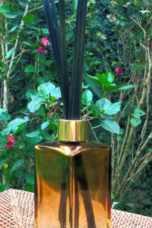 Difusor Âmbar  Degradê com aroma a escolher 250 ml
