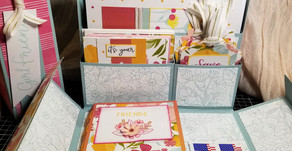 Gift Idea! - Card Station Box/Stationary Box