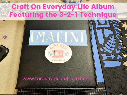 CTMH Craft On Album and the 3-2-1 Scrapbooking Technique