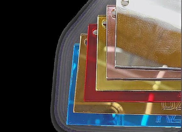 Chapa em acrílico espelhado 2000x1000mm