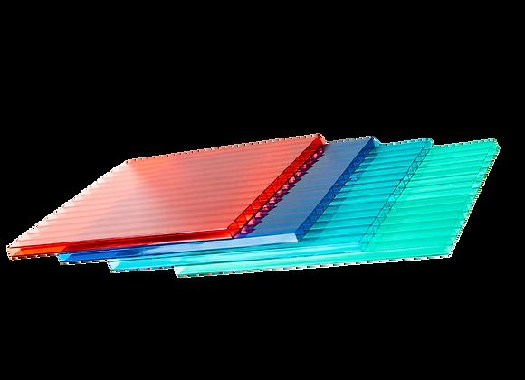 Chapa de policarbonato alveolar 6000x2000mm