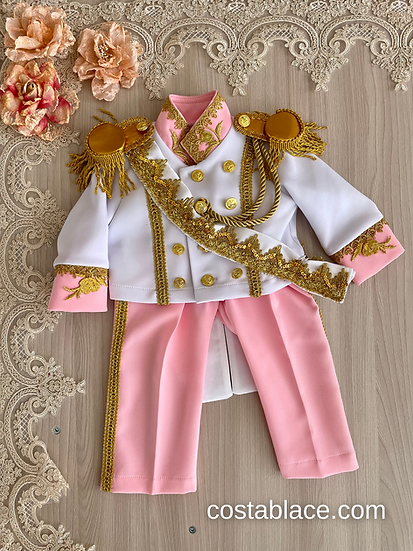 Little Prince costume in pink