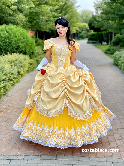 Classic Princess Belle dress for Adult