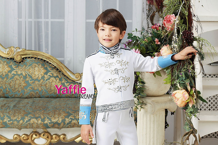 Prince Charming costume inspired by Cinderella 2015 movie