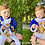 Thumbnail: Historical Prince costume. First birthday outfit in royal blue.