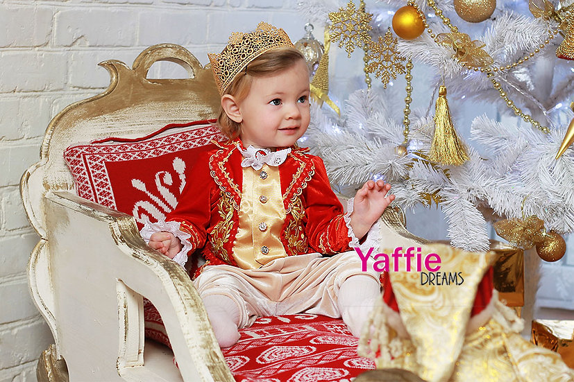Custom order Christmas costume for boy