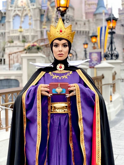 The Evil Queen dress inspired by disney Snow White and the seven dwarfs