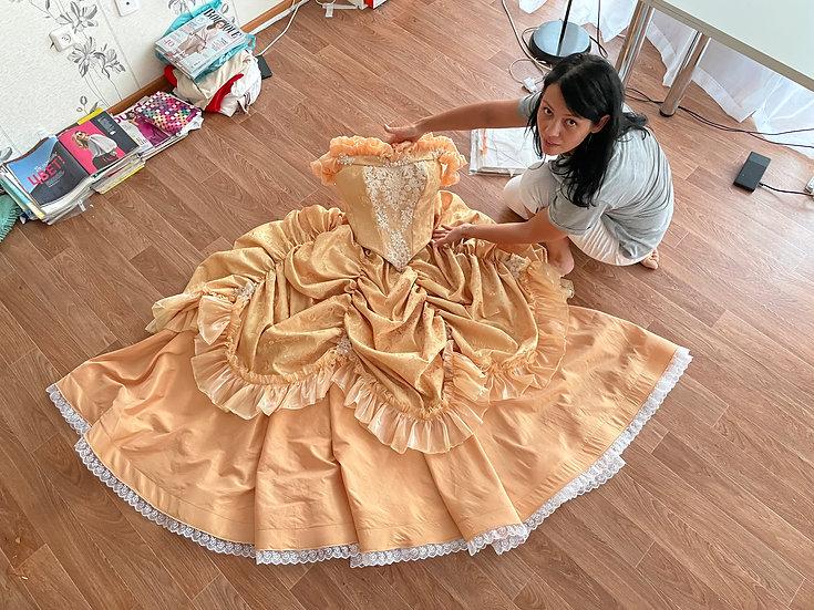 Princess Belle dress for Adult