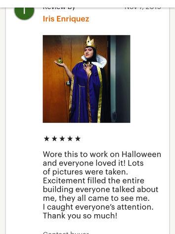 Evil Queen costume