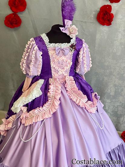 Rapunzel Baroque dress