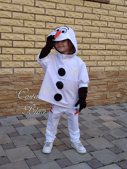 Olaf costume for kid. Frozen.
