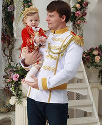Prince Charming costume for Adult weddin