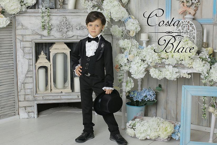 Black Gentleman tuxedo for boy