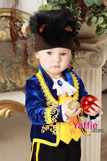 Beast costume for baby Beauty the Beast Halloween outfit