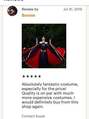 Evil Queen dress