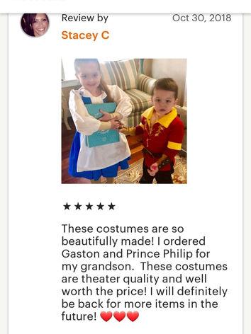 Gaston costume