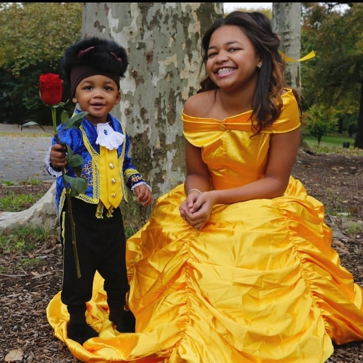 Beauty and the Beast costume halloween o