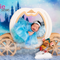 Cinderella costume for newborn baby by Y