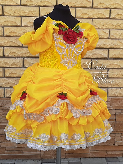 Play Friendly Princess Belle dress