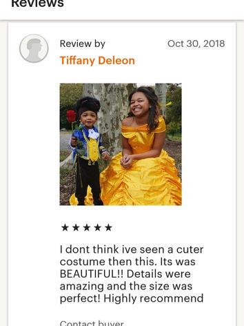 Baby Beast costume