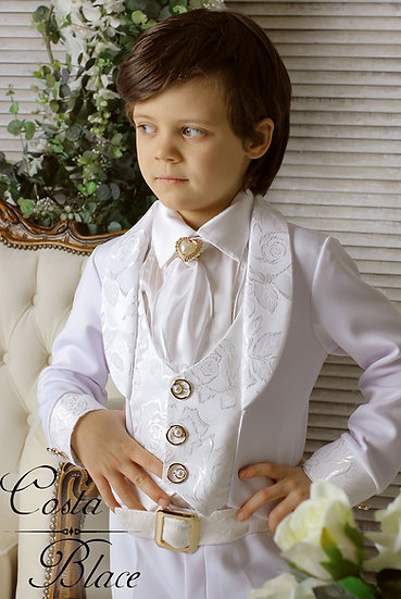 White Gentleman outfit for boy